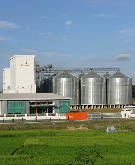 Indonesia, Cerestar Flour mills