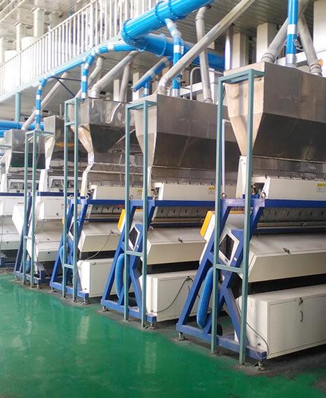 Shenyang No.1 Grain Depot 200T rice production line