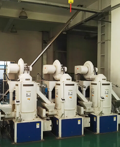 Grain south of Shenyang 100T rice production line